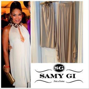 Samy Gi pre-a-porter set: Tunic and pants
